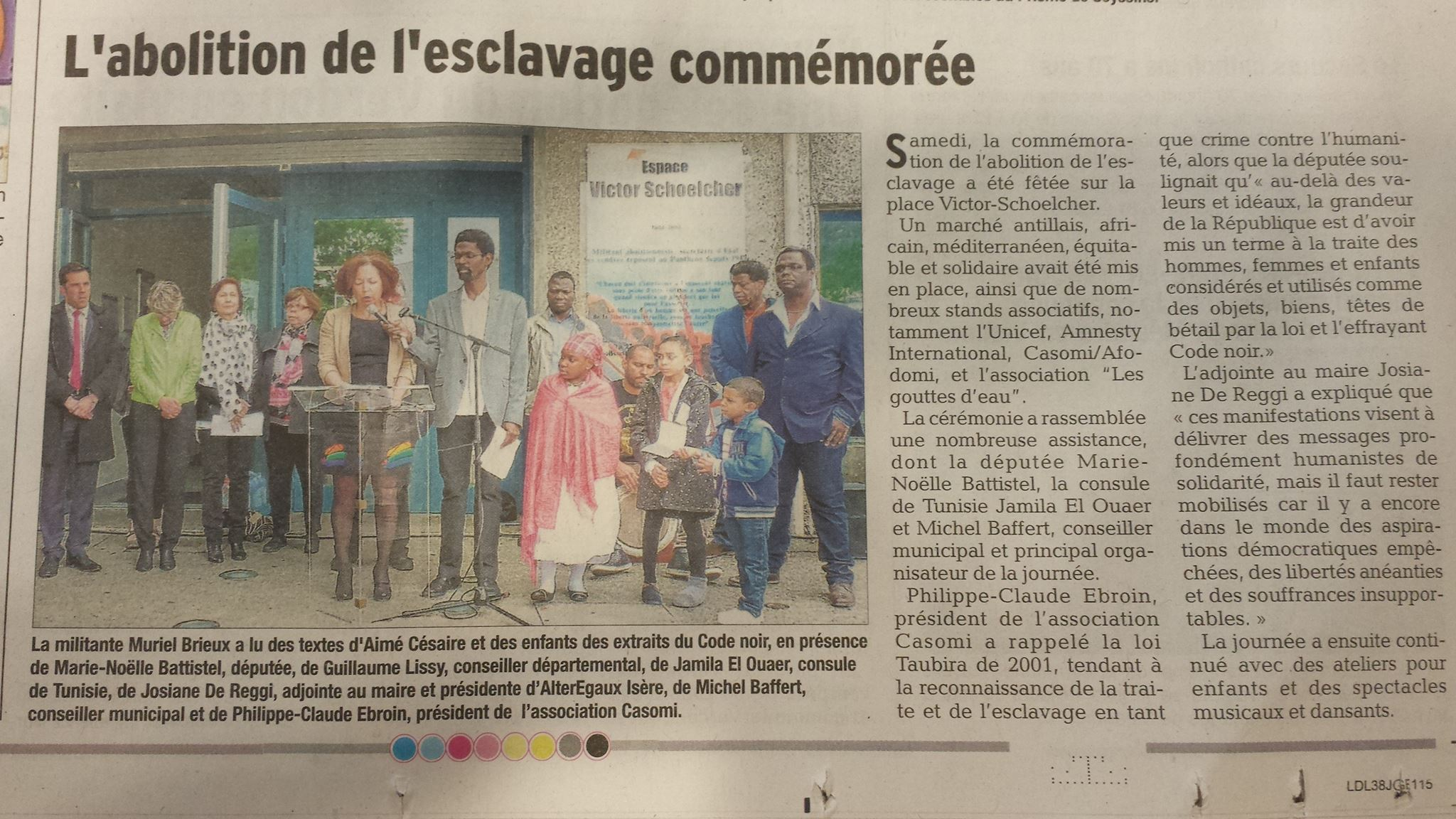 Article commémoration Seyssins