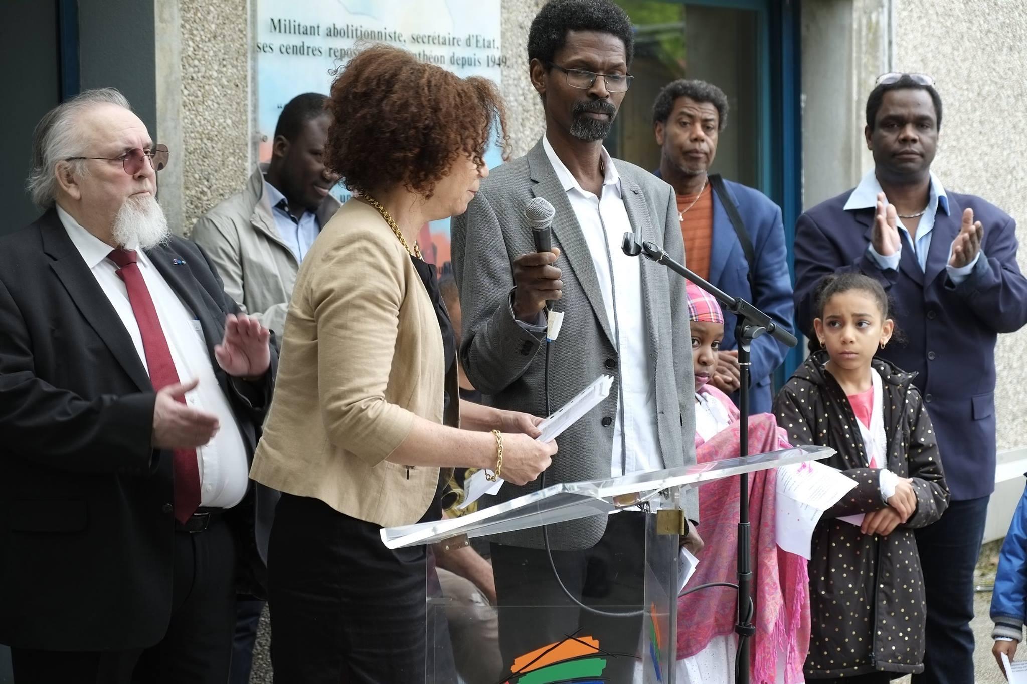 Commémoration de l' Abolition de l'Esclavage 2016 Seyssins Poésie extrait du chhier d'un Retour au Pays Natal (2)