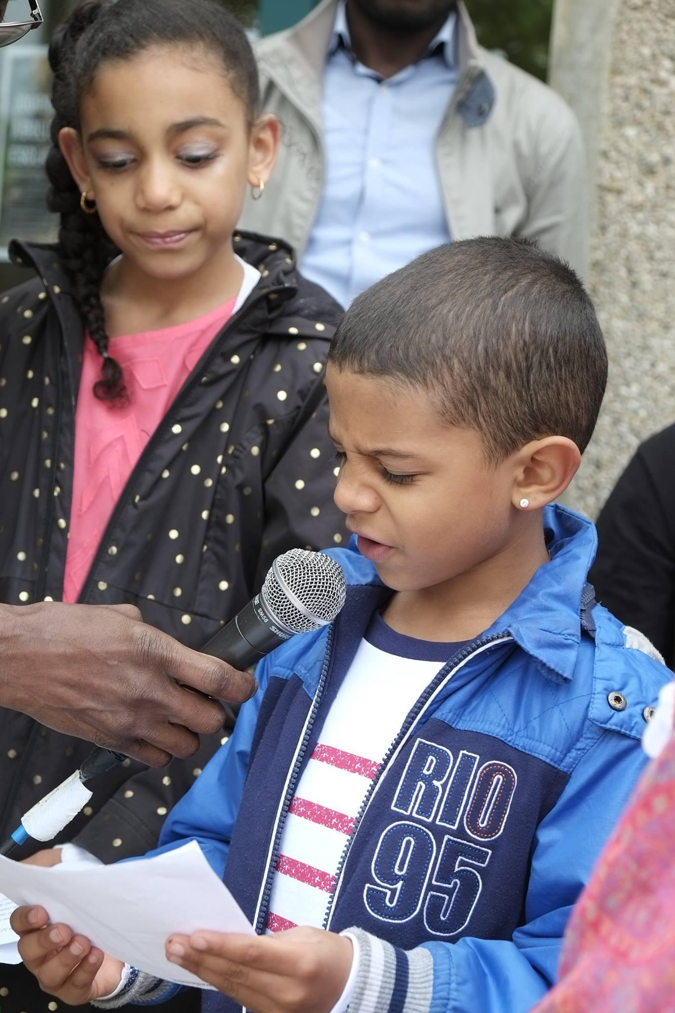 Commémoration de l' Abolition de l'Esclavage 2016 Seyssins enfants adhérents au CASOMI (4)